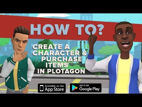 Create your characters in Plotagon.