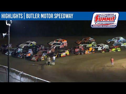 DIRTcar Summit Modifieds Butler Motor Speedway August 18, 2021 | HIGHLIGHTS - dirt track racing video image