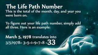 Numerology - Life Path Number EXPLAINED - YouTube