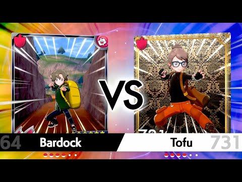 Bardock vs Strawberry Tofu   Pokemon Shield: VGC! #5