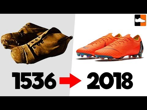 The Evolution of Football Boots!! Soccer Cleat History - UCs7sNio5rN3RvWuvKvc4Xtg