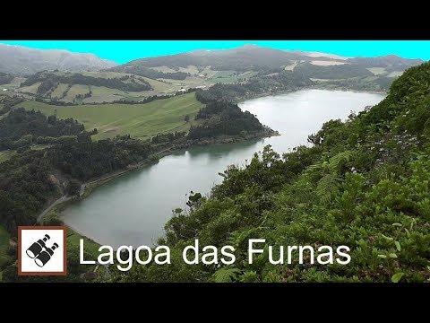 AZORES: Lagoa das Furnas, viewpoint Pico do Ferro – São Miguel Island