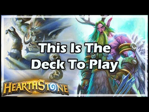 [Hearthstone] This Is The Deck To Play - Tavern Brawl #153