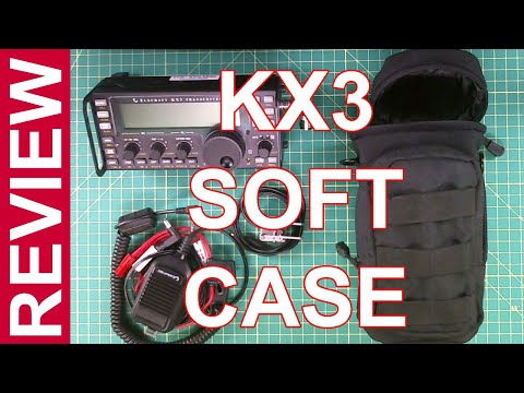 Ham Radio Review - Elecraft KX3 Soft Case