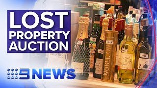 Property lost at Sydney airport up for auction | Nine News Australia