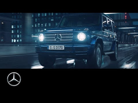 The new Mercedes-Benz G-Class (2018): Stronger Than Time.