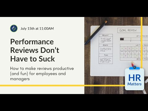 Performance Reviews Don't Have to Suck
