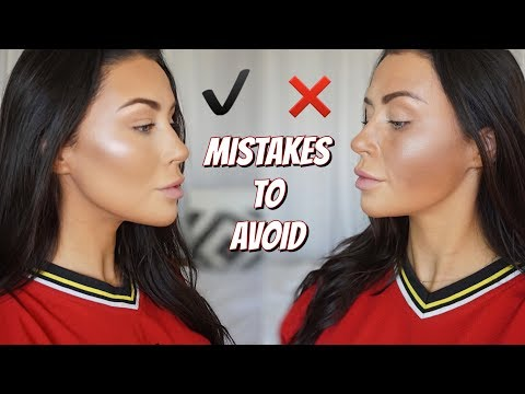 CONTOUR DO'S AND DONT'S | How to contour - what is contouring ! ? - UCf8IQSVoWAwQbyxkT6LEJ1g