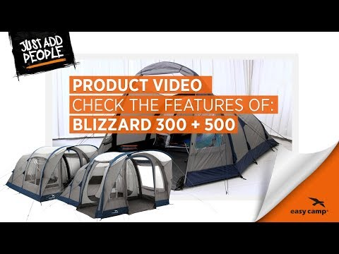Blizzard 300 and 500 Air Tent | Just Add People