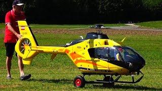 GIGANTIC RC EC-135 TAURUS TURBINE MODEL HELICOPTER