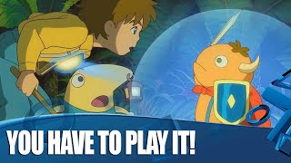 Ni no Kuni Remastered PS4 Gameplay - Why You Simply Have To Play It