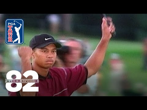 Tiger Woods wins 1999 WGC-American Express Championship Chasing 82