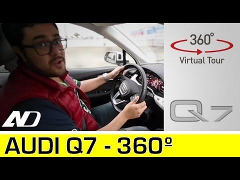 Audi Q7 - Tour interior en 360ª