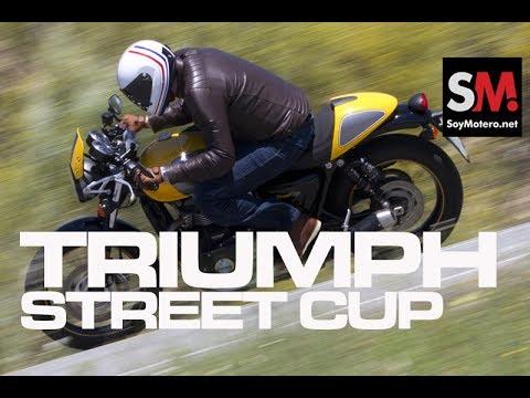 Triumph Street Cup 2017 (II): Prueba Moto Neoclásica [FULLHD]