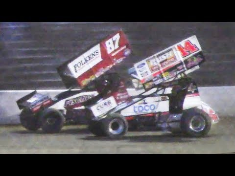 The All Star Circuit of Champions 410 Sprint Feature at Stateline Speedway (Busti, NY) on Saturday, June 8th, 2019!  Results: 1. 11-Dale Blaney [1] 2. 87-Aaron Reutzel [4] 3. 14-Tony Stewart [3] 4. 70X-Spencer Bayston [6] 5. 70-Brock Zearfoss [10] 6. 99-Skylar Gee [2] 7. O7-Gerard McIntyre [8] 8. 26-Cory Eliason [11] 9. W20-Greg Wilson [19] 10. 29-Dan Shetler [9] 11. 35Z-Jared Zimbardi [15] 12. 5-Justin Barger [17] 13. 46-Michael Bauer [12] 14. K4-Chad Kemenah [7] 15. 22-Brandon Spithaler [13] 16. 23-Darren Pifer [18] 17. 10-Joe Kata [5] 18. J4-John Garvin [16] 19. 35-Tyler Esh [20] 20. 13-Paul McMahan [14] 21. 40-George Hobaugh [22] 22. 1R-Gale Ruth Sr. [23] 23. 2L-Landon Lalonde [21] 24. 250-Jared McFarland [24]  All Star Circuit of Champions: http://www.allstarsprint.com/  Stateline Speedway: http://newstatelinespeedway.com/ - dirt track racing video image