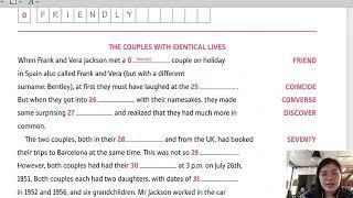 English Daily - 16/08 - Luyện kỹ năng dịch, đọc hiểu và ngữ pháp thông qua bài thi PET, FCE, TOEIC