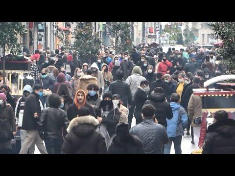 Kısıtlama Sonrası Taksim Ve İstiklal Caddesi Doldu, Taştı