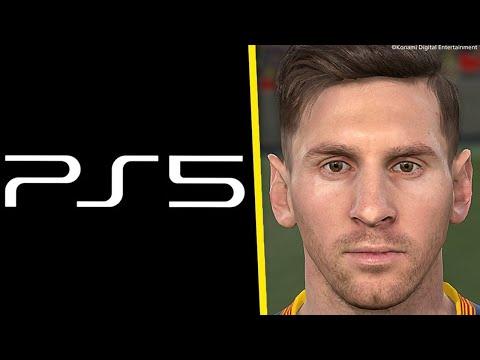 Veja como vai ser o PES 2022 NO PS5!
