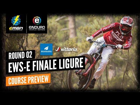 EWS-E Finale Ligure Course Preview | E-Bike Enduro World Series 2021 Round 2