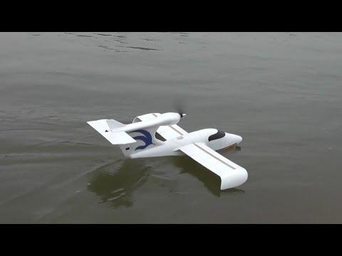 RC Seawind Float Plane - Beautiful Maiden Flight off river - UCsFctXdFnbeoKpLefdEloEQ