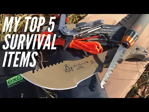 MY Top 5 Survival Items: Wilderness Survival Items To REALLY Keep You Alive