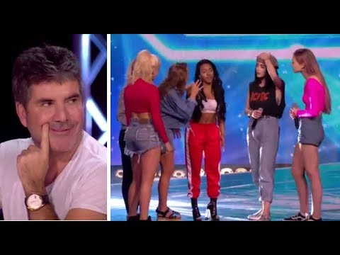 Simon Cowell PULLS a Girl From Her Band To Join NEW Girl Band   The X Factor UK 2017 - UCSWwb_YyNB8vuC1VDcfPPaQ