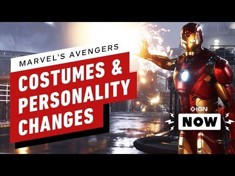 Marvel's Avengers Personalities Will Change - IGN Now - UCKy1dAqELo0zrOtPkf0eTMw