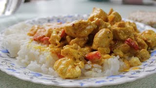 HOW TO COOK CHICKEN CURRY - EASY, FAST AND FUN!