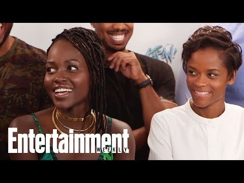 Black Panther Cast Felt The Love During Secret Fan Screening | SDCC 2017 | Entertainment Weekly - UClWCQNaggkMW7SDtS3BkEBg