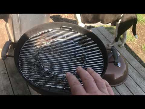 Weber 8835 Hinged Cooking Grate Video Review