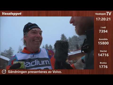 Vasaloppet 2019 - Leif Henrysson från Ödeshög