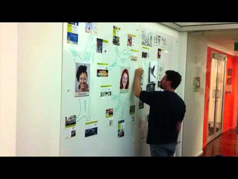 Rob Illustrating EduTECH 2013 Stand Walls