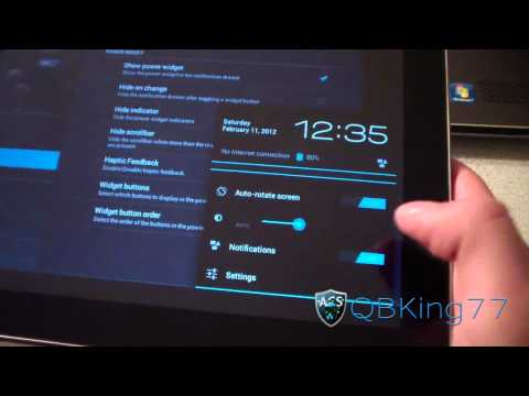 Review of the CyanogenMod 9 ICS Preview Rom on the Samsung Galaxy Tab 10.1 - UCbR6jJpva9VIIAHTse4C3hw