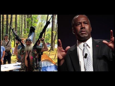 Vermin Supreme w/Guns & Ben Carson Rally