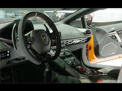 Car Design: 2017 Lamborghini Huracán Performante (Interior)