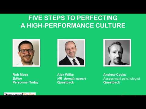 Questback with Personnel Today: 5 steps to perfecting a high performance culture