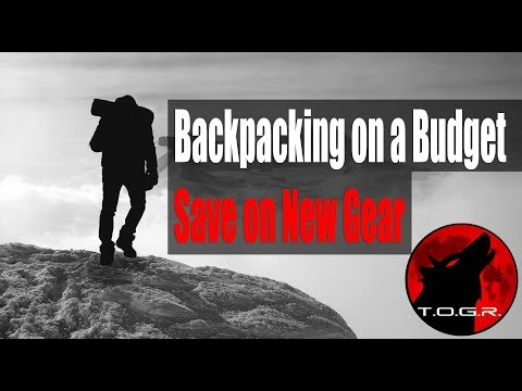Save Money on New Gear - Backpacking on a Budget - Part 2