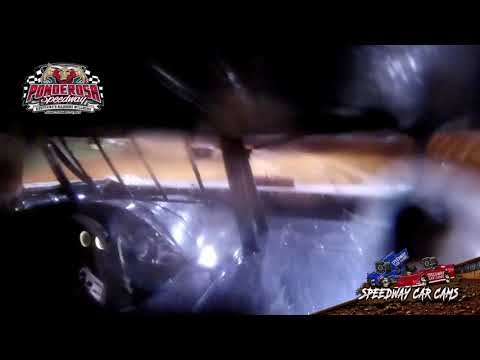 #T10 Clay Turner - Crate Late Model - 8-6-21 Ponderosa Speedway - In-Car Camera - dirt track racing video image