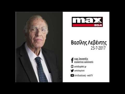 Β. Λεβέντης / MaxFM Πάτρας / 25-7-2017