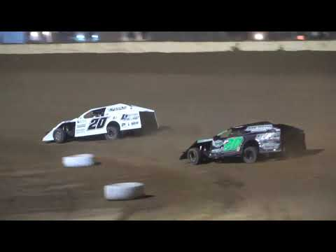UMP Modified A-Main from Portsmouth Raceway Park, September 4th, 2021. - dirt track racing video image