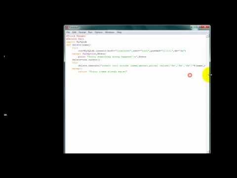 MySQLdb+Python 9