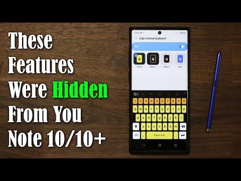 Galaxy Note 10 Plus - 10 Actual Hidden Features - UCKlOmM_eB0nzTNiDFZibSSA