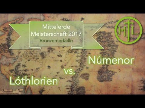 Lóthlorien vs. Númenor (Spiel um Platz 3.) - Mittelerde Meisterschaft 2017