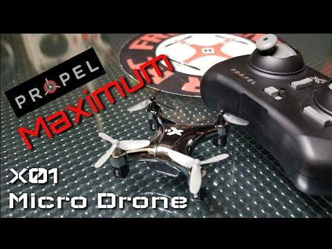 Propel Maximum X01 Micro Drone Review - UCNUx9bQyEI0k6CQpo4TaNAw