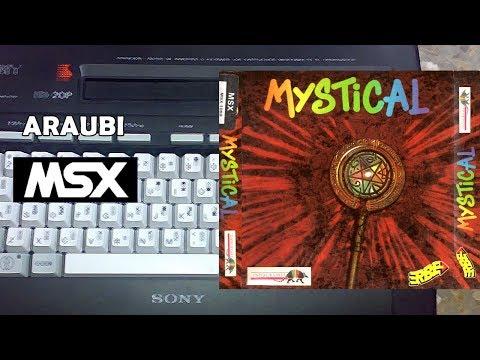 Mystical (New Frontier, 1991) MSX [455] Walkthrough