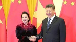 TBT CTN Tập Cận Bình chính thức muốn thăm lại VN sau buổi hội đàm cùng bà Nguyễn Thị Kim Ngân