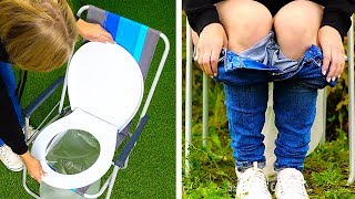 37 BRILLIANT CAMPING HACKS