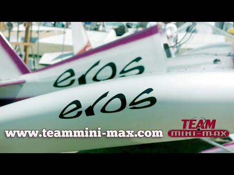 EROS, Team Mini Max EROS, single seat, experimental aircraft, featuring all wood construction.