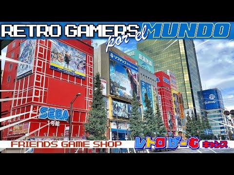 Tokyo - Retro Gamers por el Mundo - Akihabara #01 [4K]