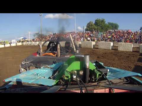 DEWITT #7 ONBOARD DEMOLITION DERBY